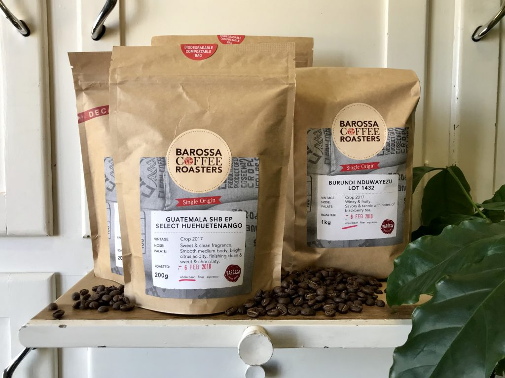COMPOSTABLE PACKAGING – Barossa Coffee Roasters